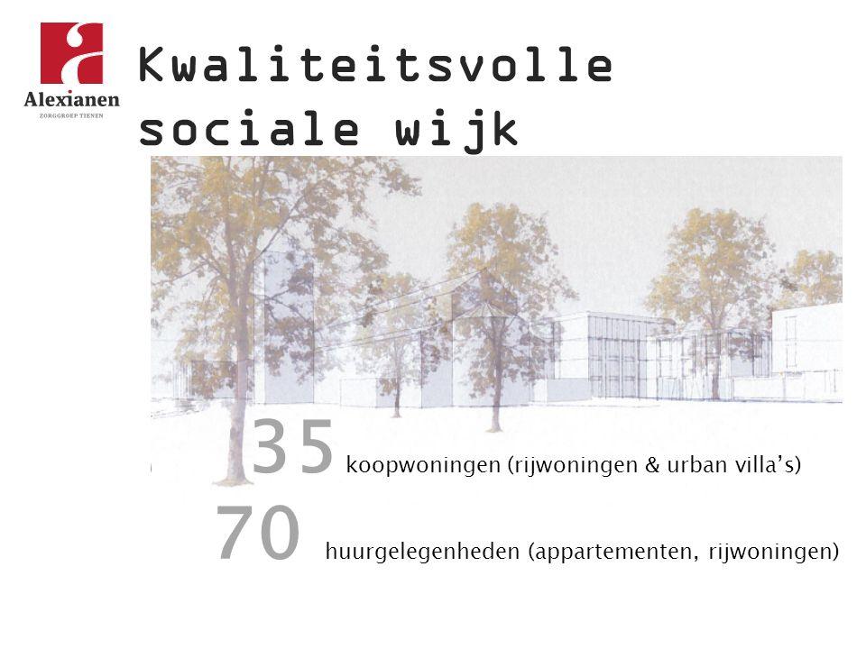 35 koopwoningen (rijwoningen & urban villa's)