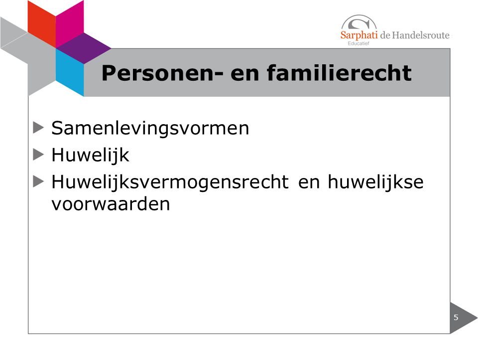 Personen- en familierecht