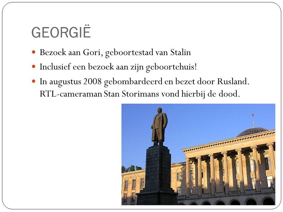 GEORGIË Bezoek aan Gori, geboortestad van Stalin