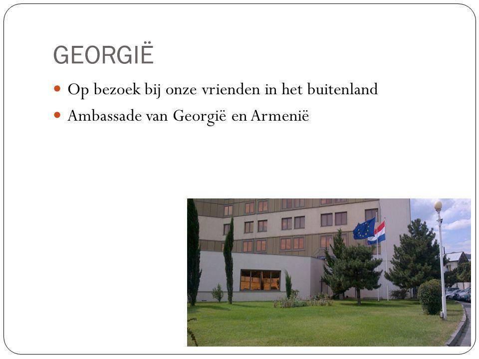 GEORGIË Op bezoek bij onze vrienden in het buitenland
