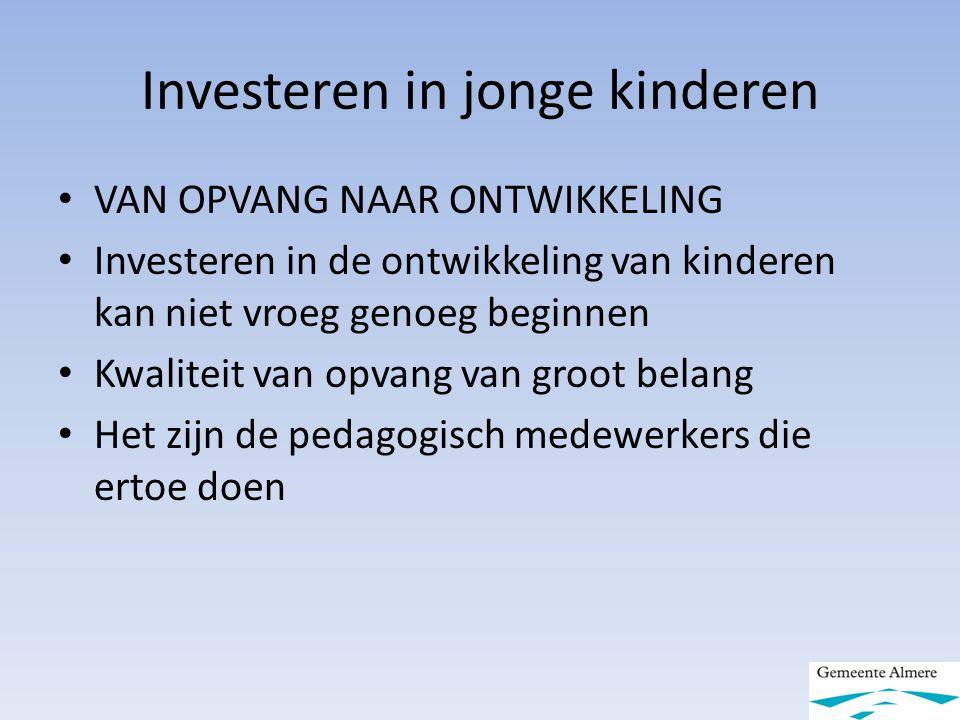 Investeren in jonge kinderen