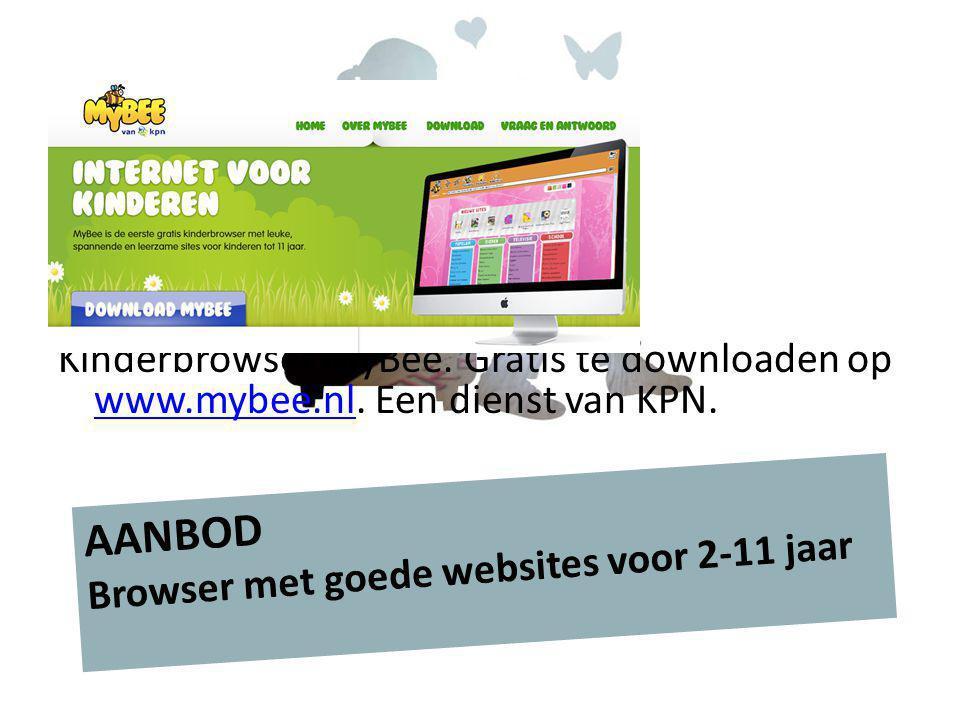 AANBOD Browser met goede websites voor 2-11 jaar