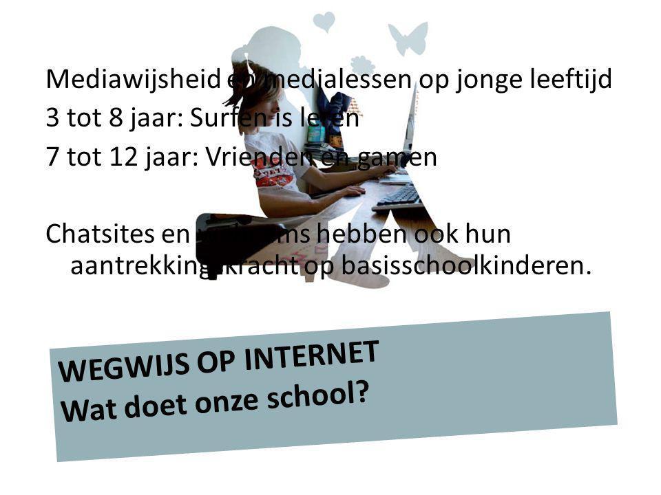 WEGWIJS OP INTERNET Wat doet onze school