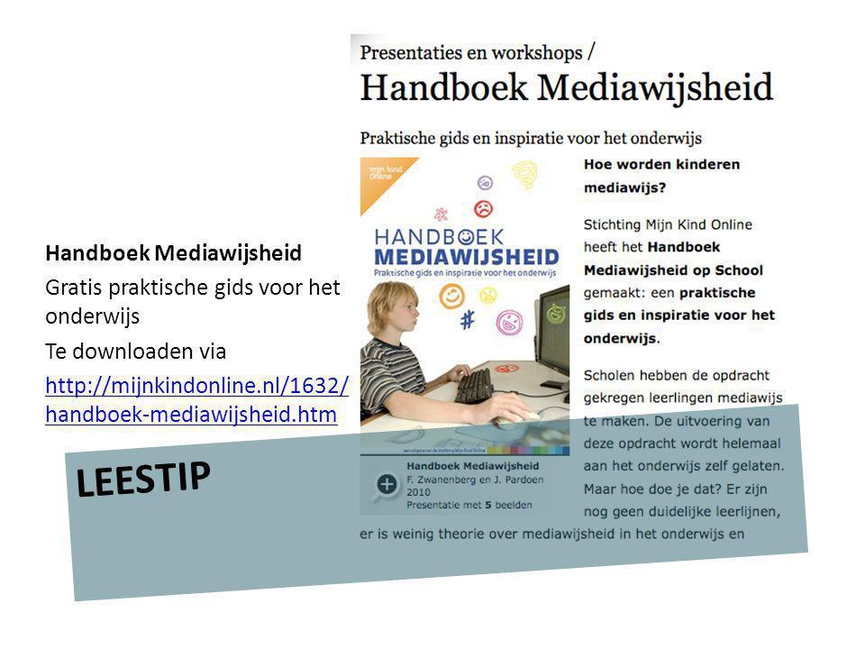 LEESTIP Handboek Mediawijsheid