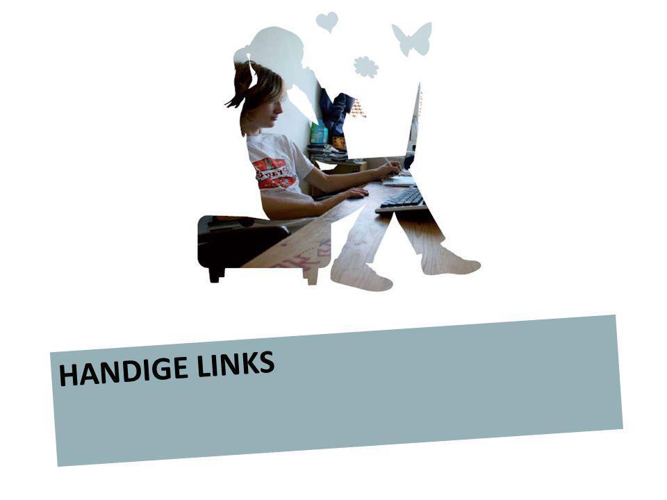 De jeugd online HANDIGE LINKS