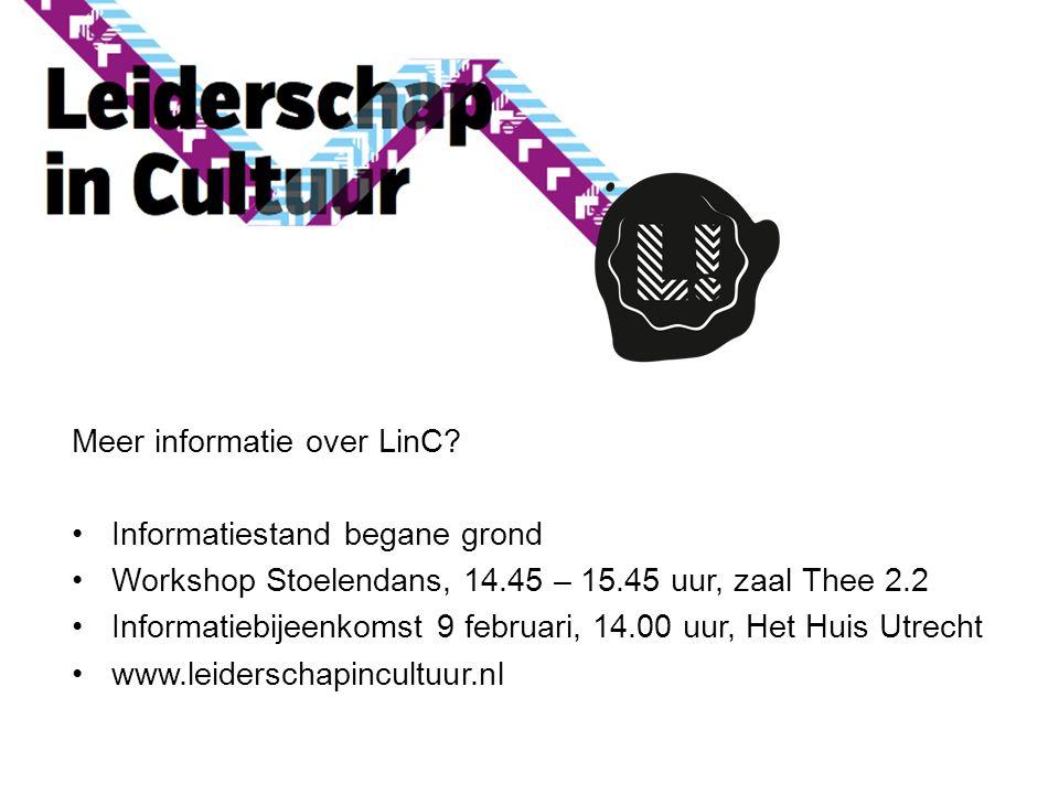 Meer informatie over LinC Informatiestand begane grond