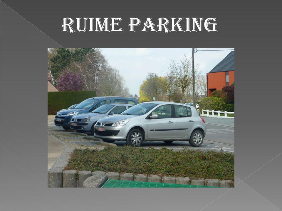Ruime parking