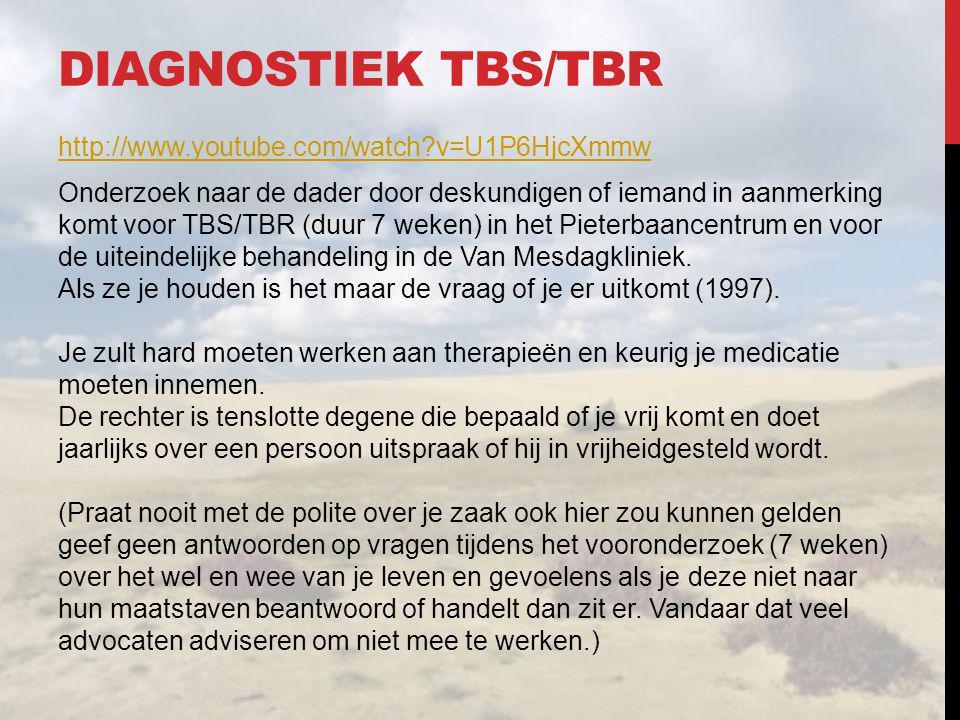 Diagnostiek tbs/tbr
