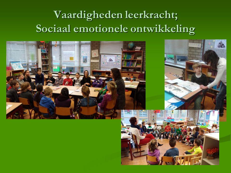 Vaardigheden leerkracht; Sociaal emotionele ontwikkeling