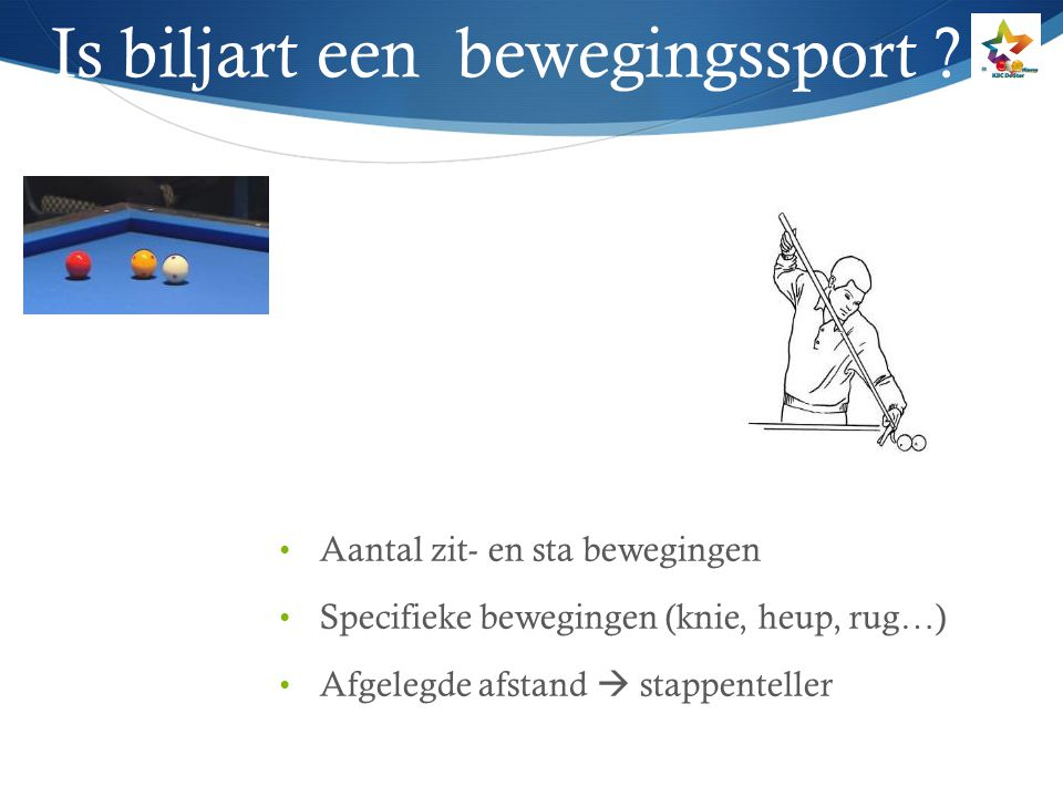 Is biljart een bewegingssport