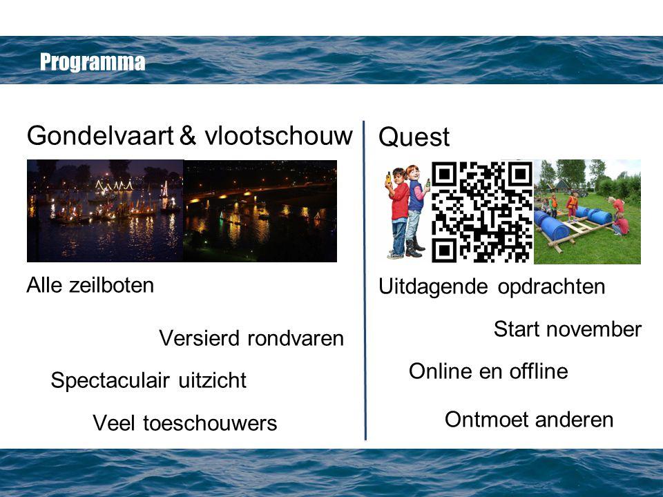 Gondelvaart & vlootschouw Quest