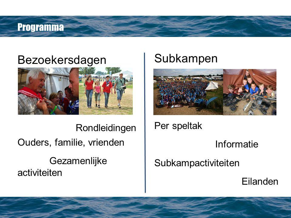 Subkampen Bezoekersdagen Rondleidingen Programma