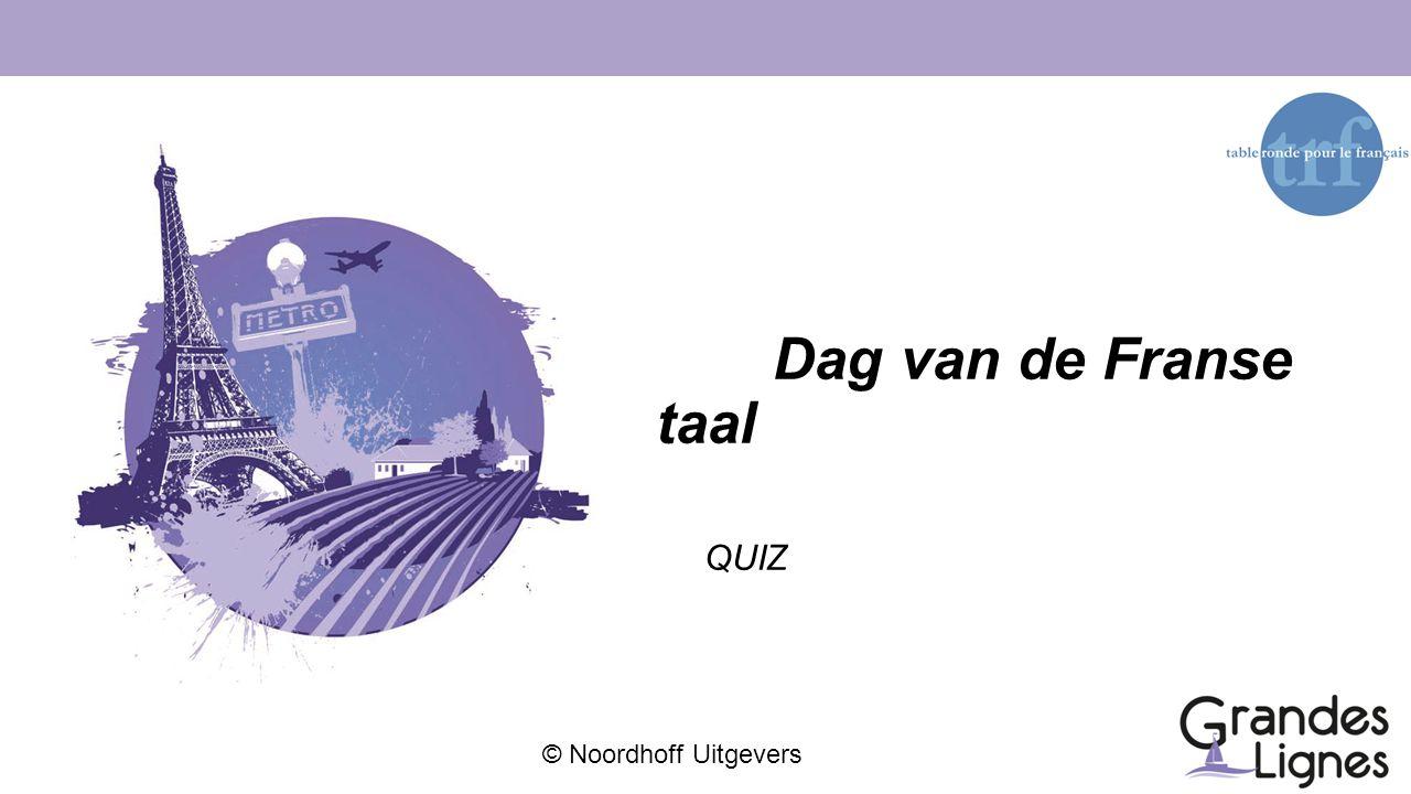 Dag van de Franse taal QUIZ
