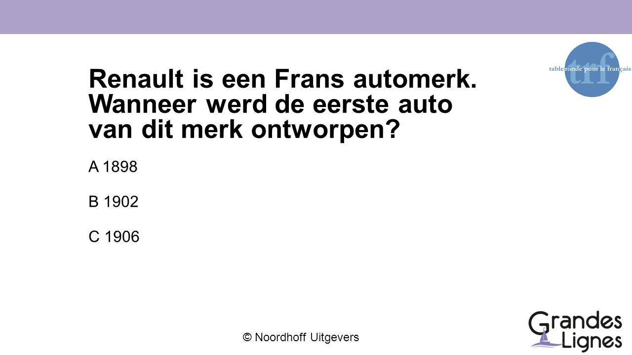 Renault is een Frans automerk