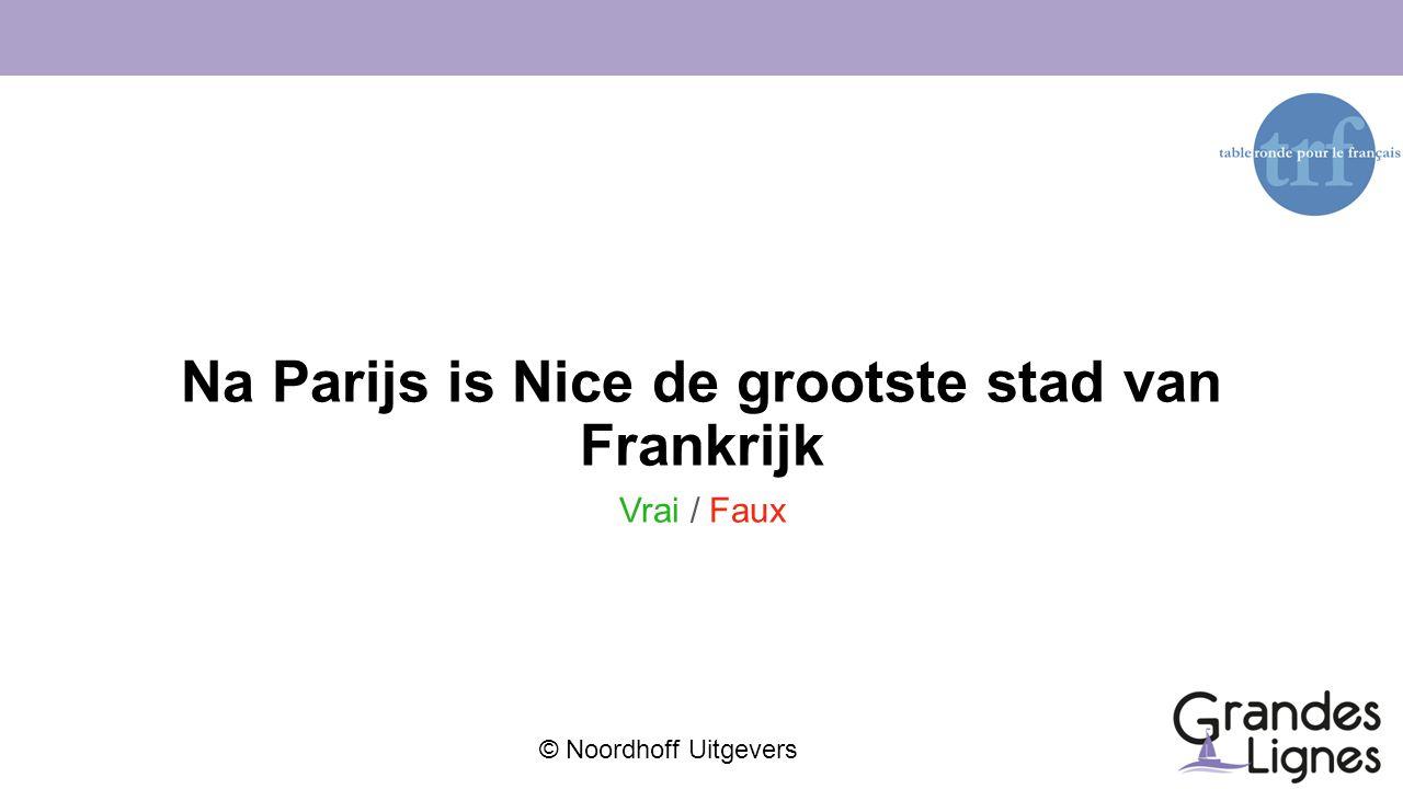 Na Parijs is Nice de grootste stad van Frankrijk
