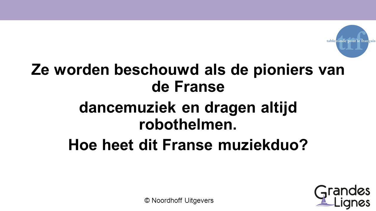 Ze worden beschouwd als de pioniers van de Franse dancemuziek en dragen altijd robothelmen.