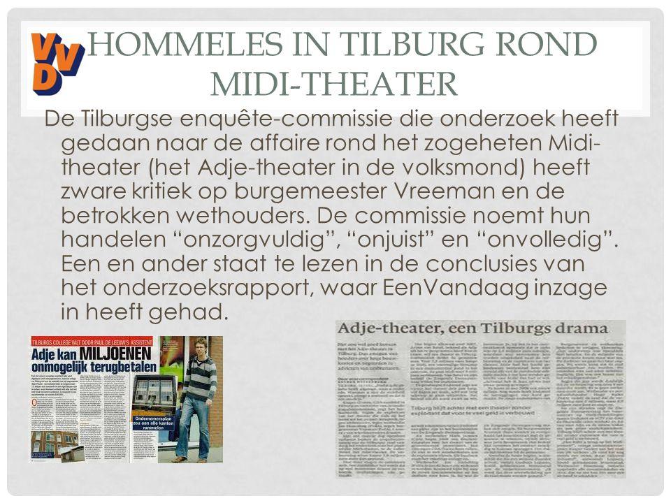 Hommeles in Tilburg rond Midi-theater