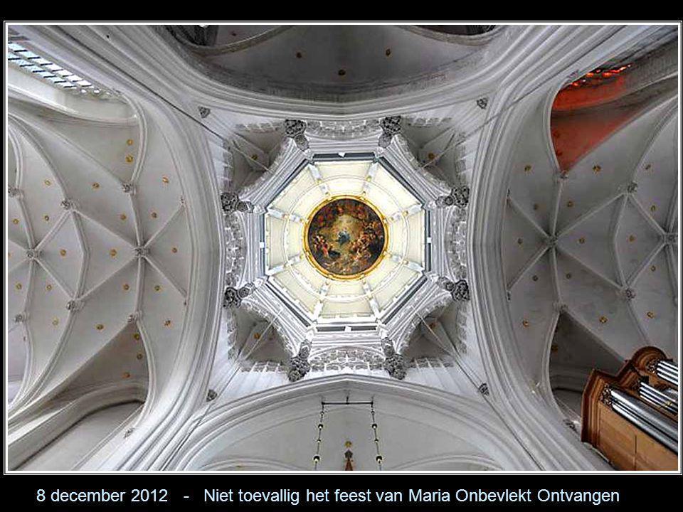 8 december 2012 - Niet toevallig het feest van Maria Onbevlekt Ontvangen