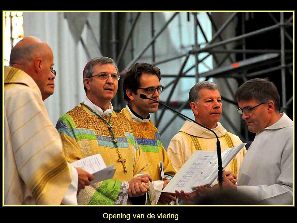 Opening van de viering