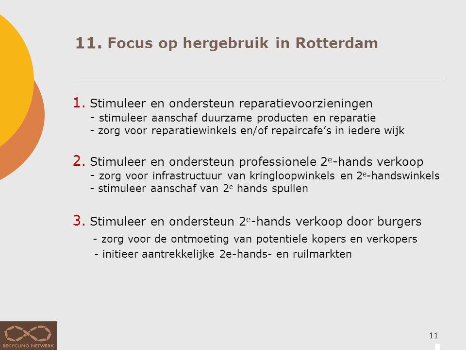 11. Focus op afvalpreventie in Rotterdam