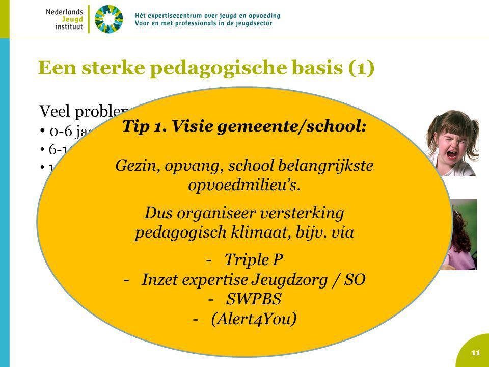 Een sterke pedagogische basis (1)