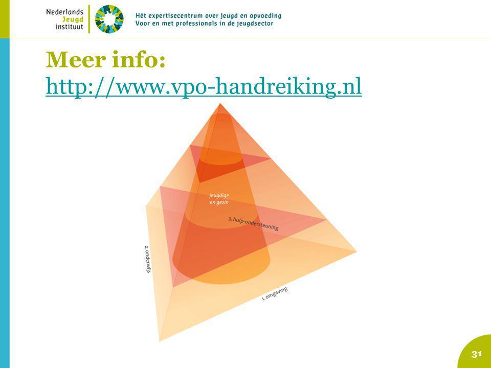Meer info: http://www.vpo-handreiking.nl