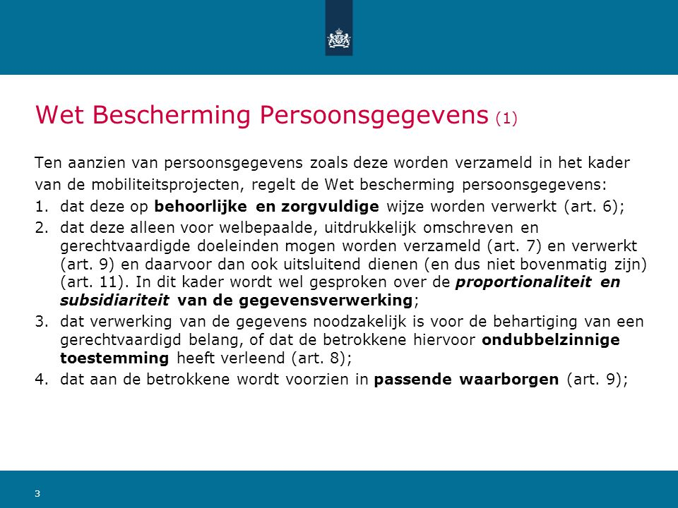 Wet Bescherming Persoonsgegevens (1)