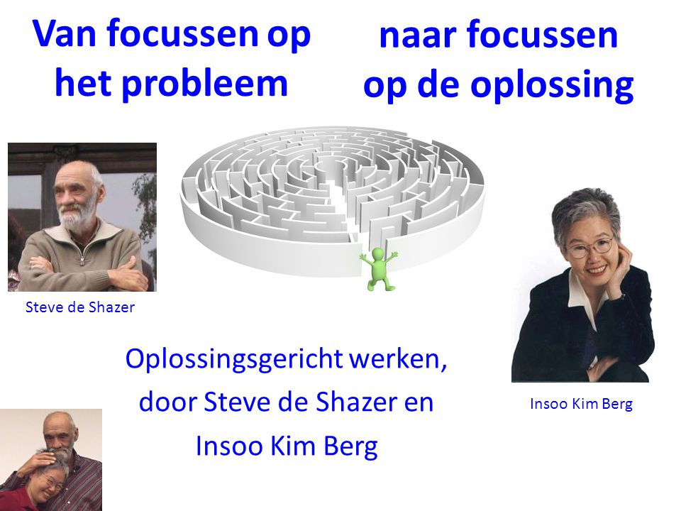 Van focussen op het probleem