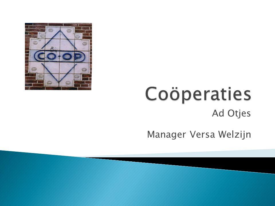 Ad Otjes Manager Versa Welzijn