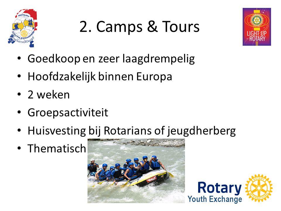2. Camps & Tours Goedkoop en zeer laagdrempelig