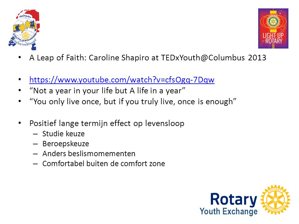 A Leap of Faith: Caroline Shapiro at TEDxYouth@Columbus 2013
