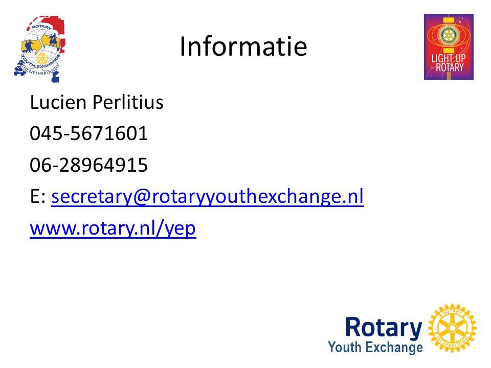 Informatie Lucien Perlitius 045-5671601 06-28964915