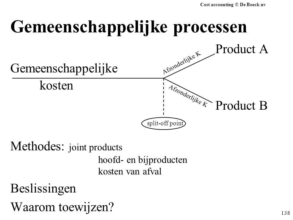Gemeenschappelijke processen
