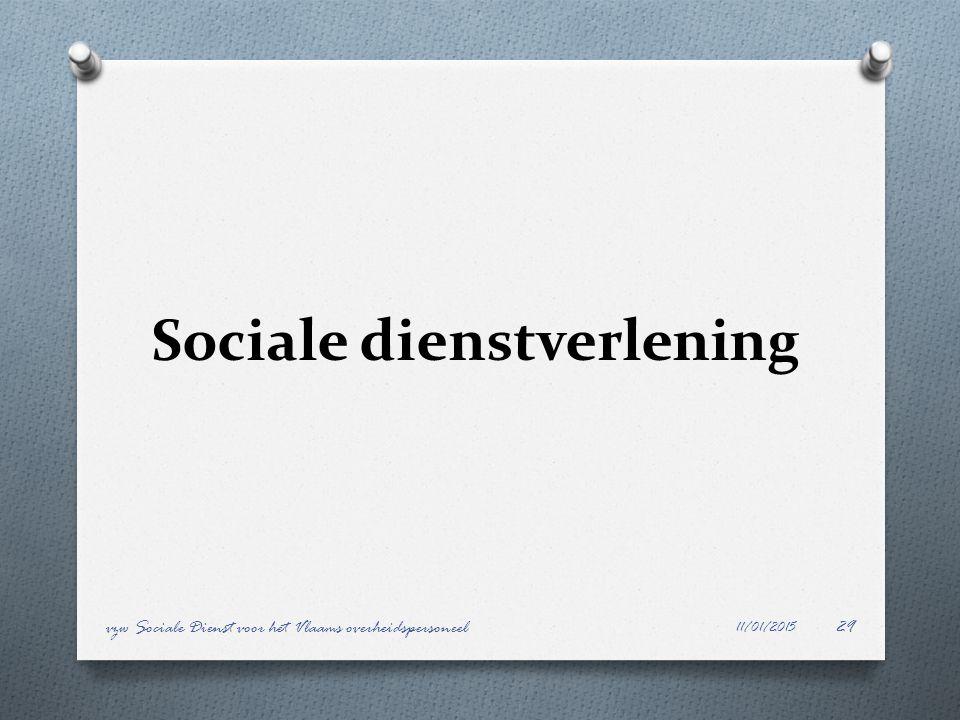 Sociale dienstverlening