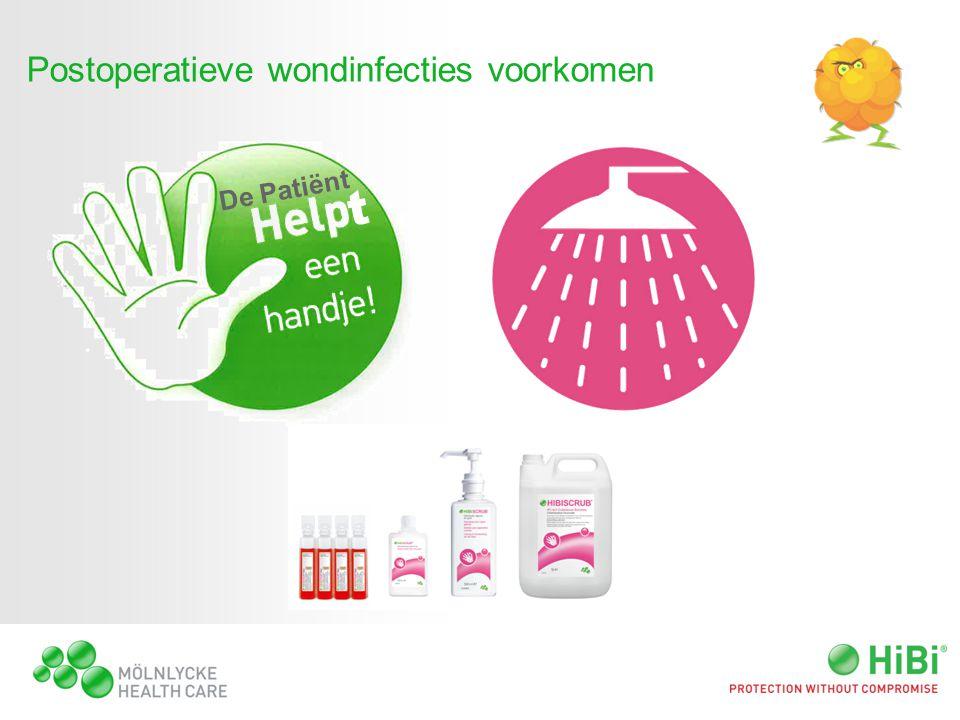 Postoperatieve wondinfecties voorkomen