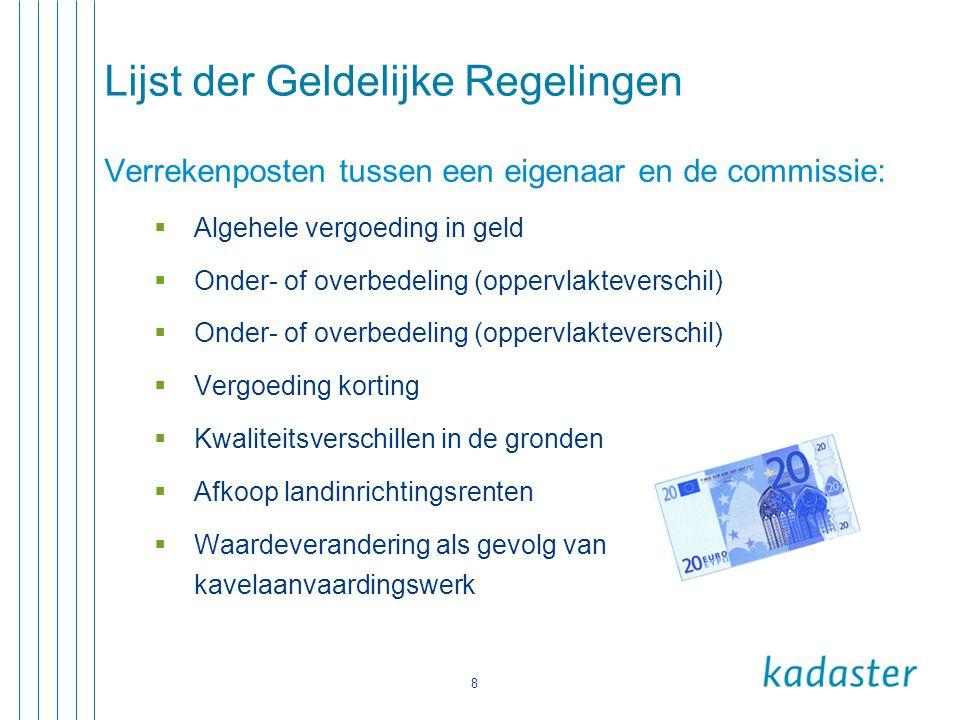 Lijst der Geldelijke Regelingen