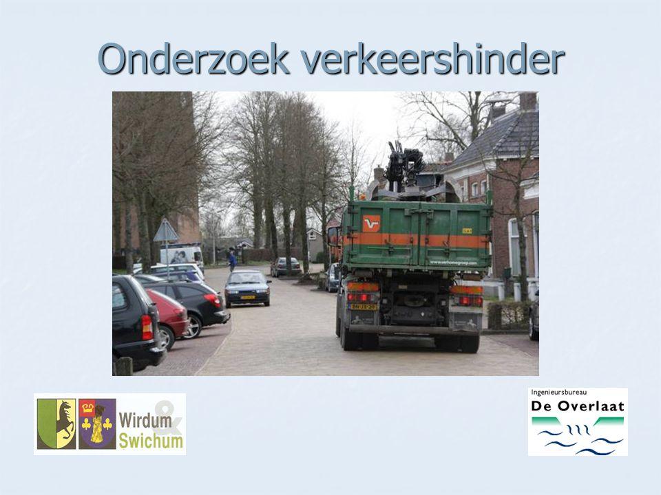 Onderzoek verkeershinder