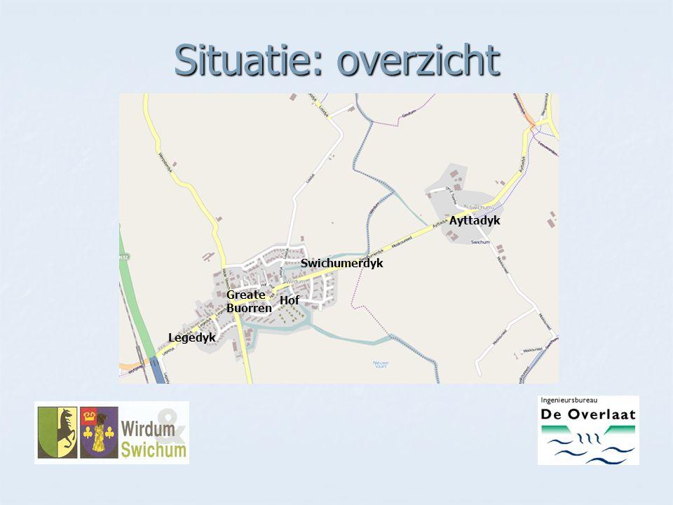 Situatie: overzicht Ayttadyk Swichumerdyk Greate Buorren Hof Legedyk