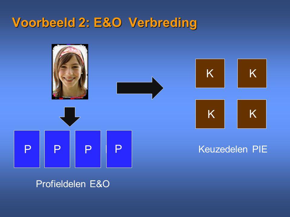 Voorbeeld 2: E&O Verbreding