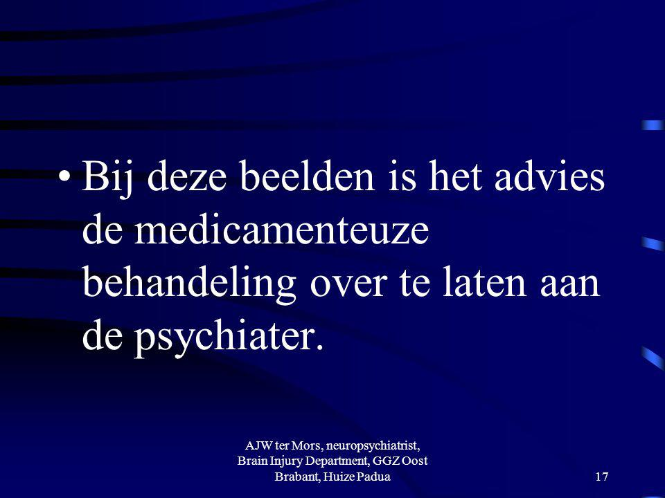 Psychiatrische beelden i.e.z.