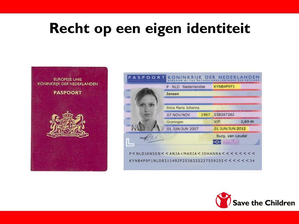 Recht op een eigen identiteit