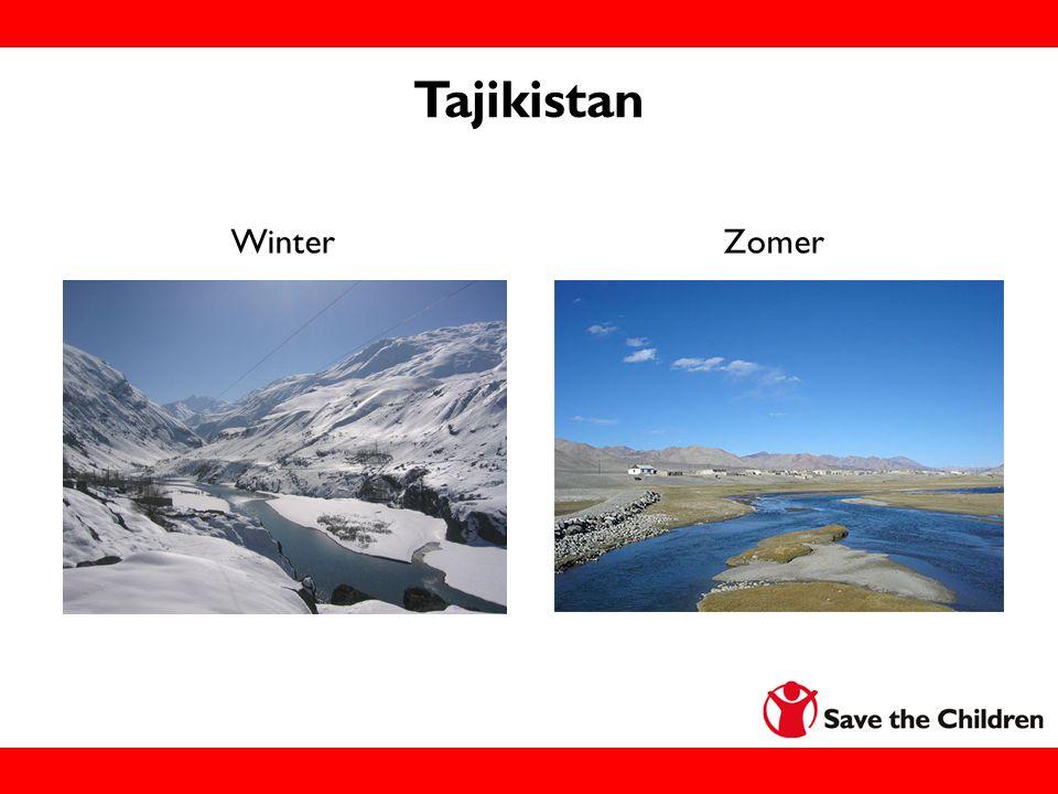 Tajikistan Winter Zomer Informatie voor de leraar