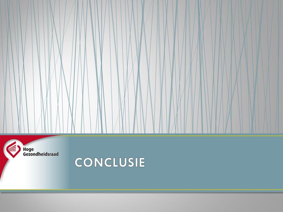 CONCLUSIE Ziezo, we zijn aan het einde van onze uiteenzetting gekomen… en nu de conclusie
