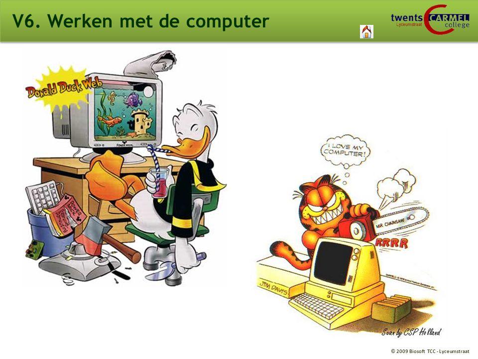 V6. Werken met de computer