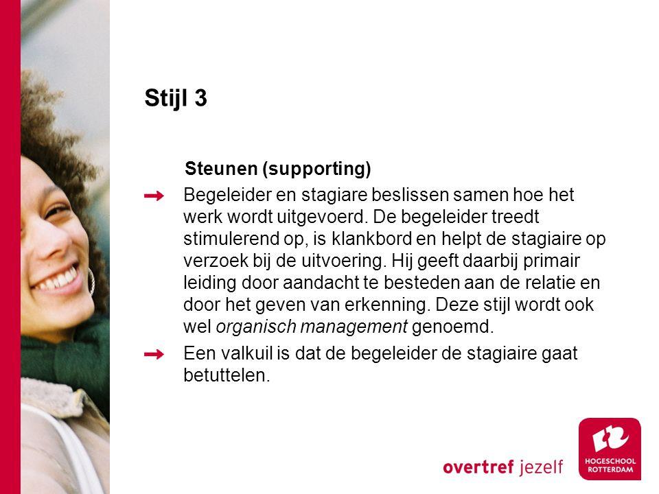 Stijl 3 Steunen (supporting)