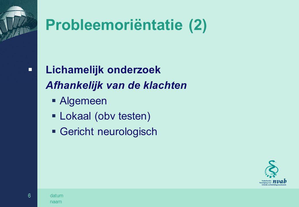 Probleemoriëntatie (2)
