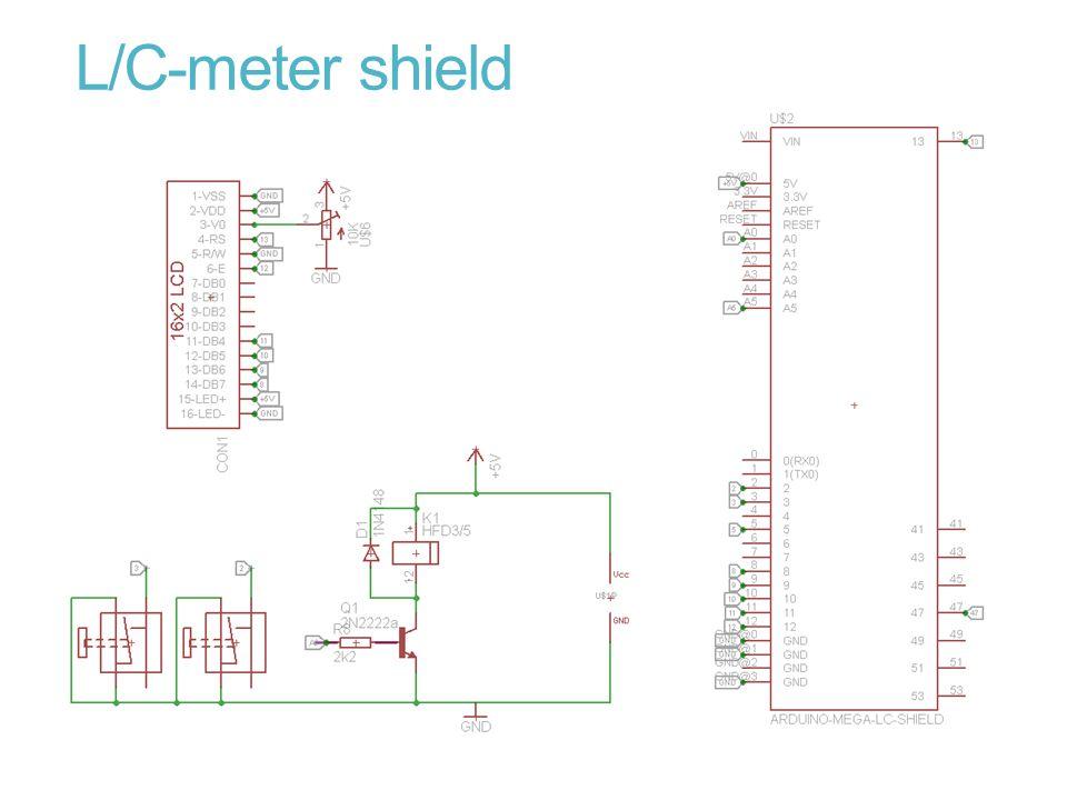 L/C-meter shield