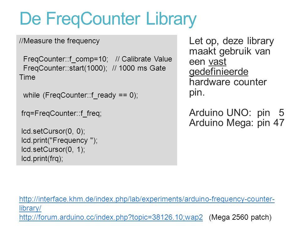 De FreqCounter Library