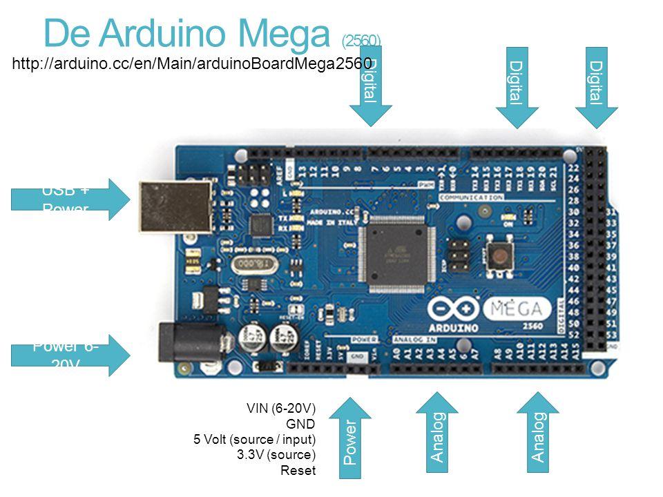 De Arduino Mega (2560) http://arduino.cc/en/Main/arduinoBoardMega2560