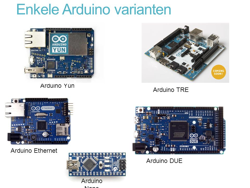 Enkele Arduino varianten